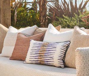 Zinc textile - sundown - Coussin Carré