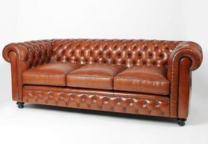 Techni Salons -  - Canapé Chesterfield