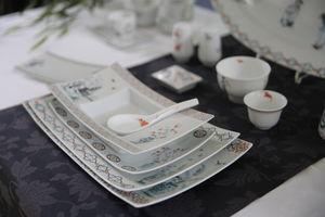 FRADKOF - ombres chinoises - Assiette De Présentation