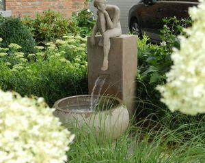Terracotta d'Arte - tereza caspo - Fontaine Centrale D'extérieur