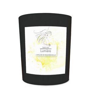 L'ATELIER DE MADEMOISELLE - ma lumière - Bougie Parfumée