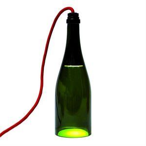 L'ATELIER DU VIN - bouteille torche - Lampe À Poser