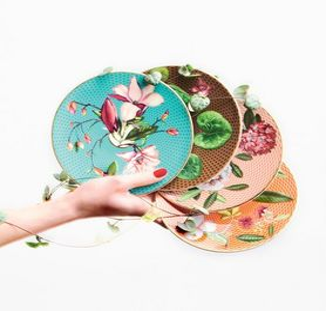 Raynaud - ...trésor fleuri- - Assiette Plate