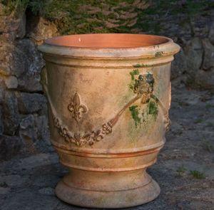 Le Chêne Vert - xvii - Vase D'anduze