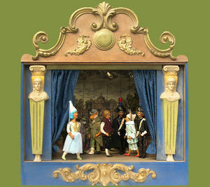 Sartoni Danilo Ravenna Italy - teatrino i pinocchio - Th��tre De Marionnettes