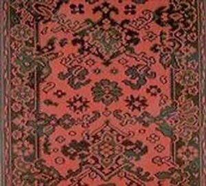 Moquettes Jules Flipo - floral rouge - Tapis D'escalier
