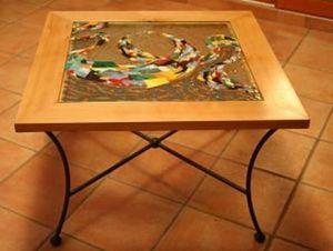 Atelier Eolcha - riviere de vie - Table Basse Carrée