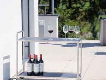 Fischer Mobel - helix - Table Roulante De Jardin