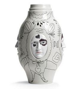 Lladró - conversation vase ii - Vase À Fleurs
