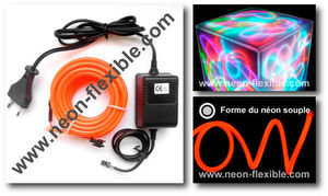 NEONFLEXIBLE.COM - d�coration de la maison rouge 5m - Neon Flexible