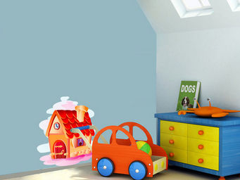 WEEDECO - maisonette - Sticker D�cor Adh�sif Enfant