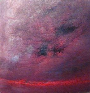www.maconochie-art.com - reef fire - Huile Sur Toile Et Huile Sur Panneau