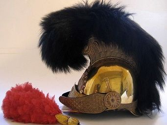 Bernard Bruel expertise - casque de pompier mod. 1852/1860 - Armure