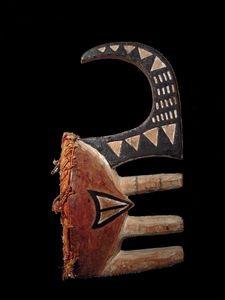 Galerie Olivier Castellano - masque igbo afikpo - Masque Africain