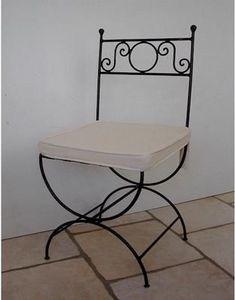 Basset Ferronnerie Freres -  - Chaise De Jardin