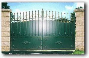 Cadiou Industrie -  - Portail De Jardin