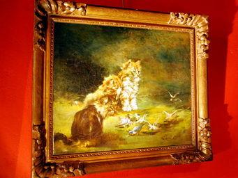 Antiquités Passion -  - Huile Sur Toile Et Huile Sur Panneau