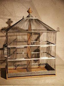 Au R�veil du Temps -  - Cage � Oiseaux