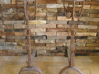 Bca Materiaux Anciens -  - Chenets