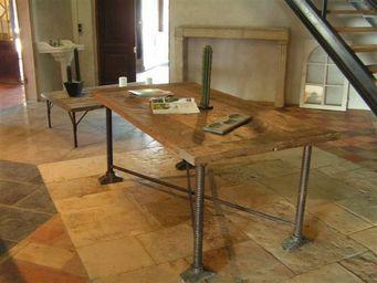 Bca Materiaux Anciens -  - Table De Repas Rectangulaire