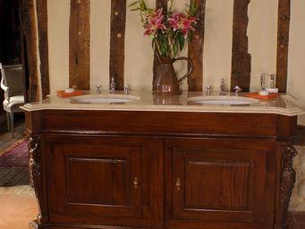 Acajou - sevres caryatid - Meuble Double Vasque