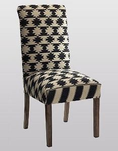 Andrew Martin - kelim dining chair - Chaise