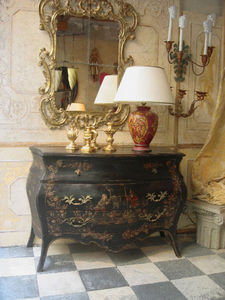 Terra Di Siena - commode genovèse - Commode