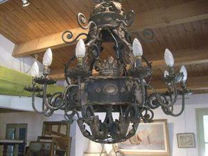 ANTIQUITES THUILLIER - lustre style baroque - Lustre