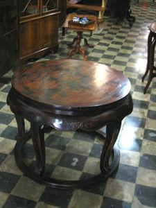 ANTIGÜEDADES BRITANIA - olmo - Table Basse Ronde