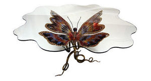 JOY DE ROHAN CHABOT - papillon - Table De Repas Ovale