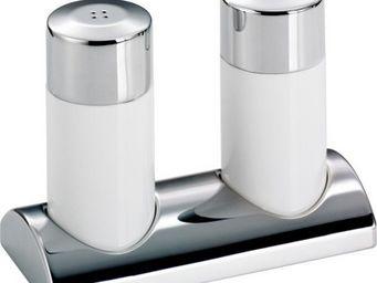 Wesco - set poivri�re et sali�re blanc - Sali�re Et Poivri�re