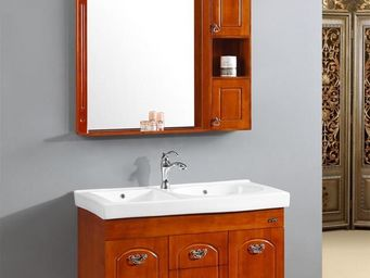 UsiRama.com - antiquit� ( rangement 1200mm + armoire 250mm ) - Meuble Double Vasque