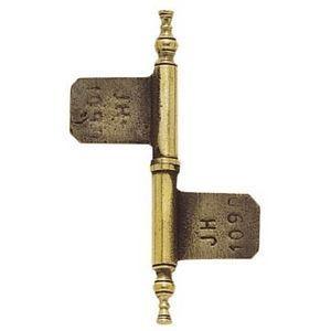 FERRURES ET PATINES - fiche de meuble en bronze - gamme lorraine - pour - Gond