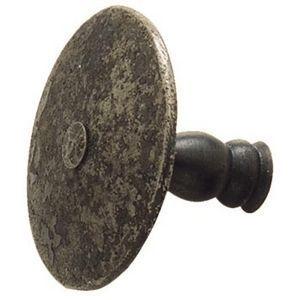 FERRURES ET PATINES - bouton de meuble en fer - fait main - style louis - Bouton De Meuble Et De Placard
