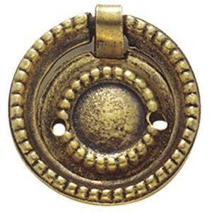 FERRURES ET PATINES - anneau pour meuble miniature - Anneau De Meuble
