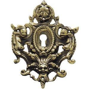 FERRURES ET PATINES - entree de meuble en bronze style louis xiv pour co - Entrée De Meuble