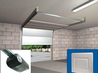 Wimove - ensemble porte sectionnelle motorisee panneaux cas - Porte De Garage Basculante