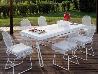 ITALY DREAM DESIGN - swell - Table De Jardin À Rallonges