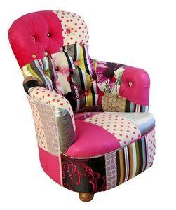 KELLY SWALLOW - pink princess - Fauteuil Crapaud