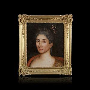 Expertissim - ecole du xixe siècle, dans le goût du xviiie siècl - Portrait