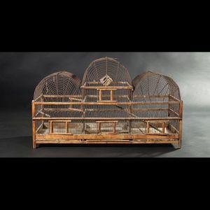 Expertissim - cage � oiseaux � trois compartiments - Cage � Oiseaux