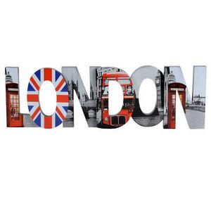 Maisons du monde - déco mural london grand modèle - Lettre Décorative