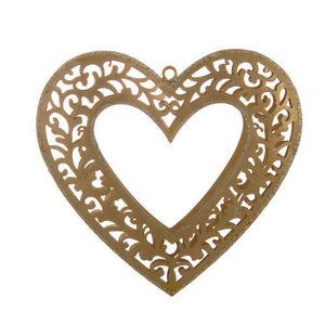 Maisons du monde - coeur oriental doré - Coeur