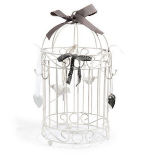 Maisons du monde - cage porte bijoux birdy - Porte Bijoux
