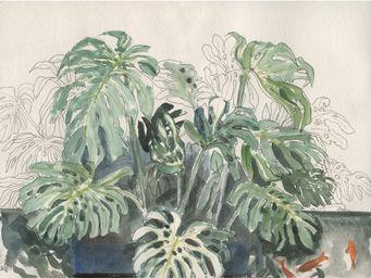 IN CREATION - carnet de voyages - jardin marjorelle2 - Panneau D�coratif