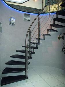 Créateurs d'Escaliers Treppenmeister - épura - Escalier Un Quart Tournant