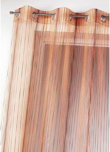 HOMEMAISON.COM - voilage en organza multicolore tissé - Voilage