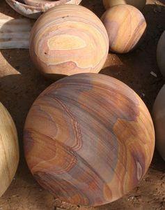 C2nt - wood vein� - Boule D�corative