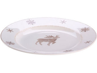 Athezza - plat alpage rond d31cm - Assiette Plate