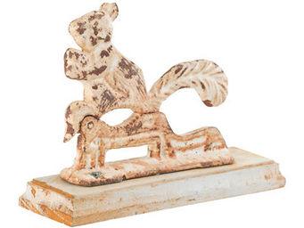Athezza - casse-noisettes ecureuil fonte l19xh14cm - Casse Noix